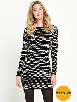 v-by-very-spot-jacquard-dress