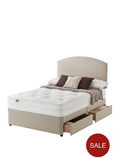 silentnight-mirapocket-penny-1200-deluxe-tufted-divan-with-optional-storage-and-half-price-headboard-offer-buy-and-save