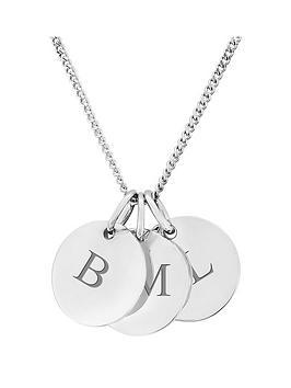 keepsafe-personalised-sterling-silver-three-pebble-pendant