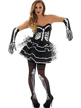 skeleton-tutu-dress