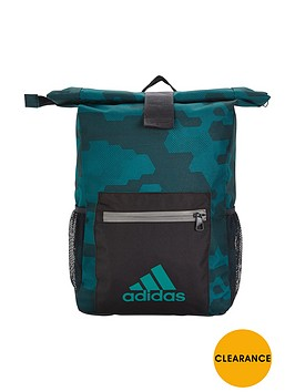 adidas-older-boys-camo-backpack