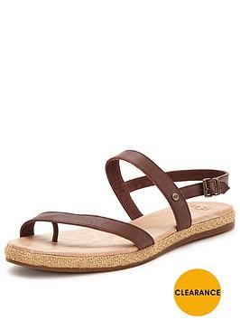 ugg-bryleenbspmetallic-strappy-sandalnbsp