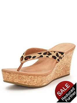 ugg-australia-natassianbspleopard-wedged-sandal