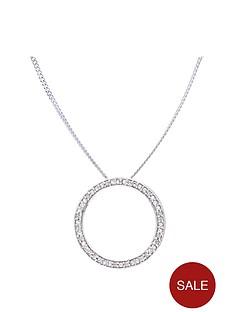 love-diamond-sterling-silver-6-point-diamond-circle-pendant