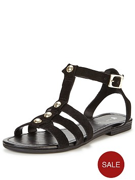 v-by-very-regent-stud-gladiator-flat-leather-sandal