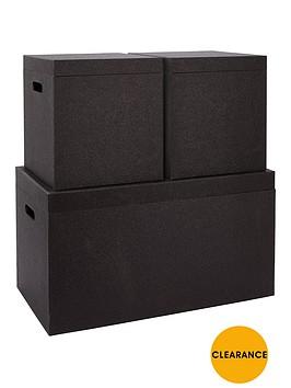 glitter-set-of-3-trunks-black