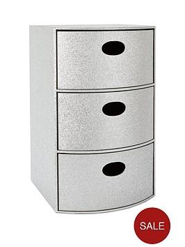 glitter-3-drawer-chest-silver