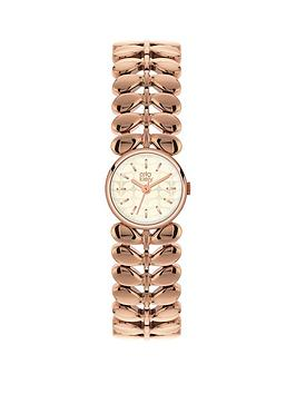 orla-kiely-orla-kiely-silver-printed-dial-with-rose-gold-stem-link-bracelet-ladies-watch
