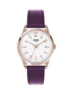 henry-london-henry-london-hampstead-white-date-dial-berry-leather-strap-ladies-watch