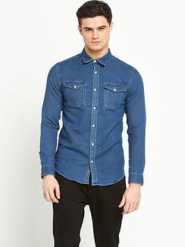 selected-homme-denim-shirt