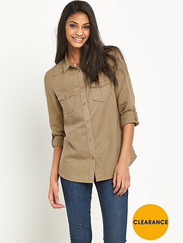 v-by-very-linen-mix-utility-shirtnbsp