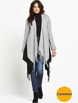 vila-vikaianbspfringed-hem-coatigan