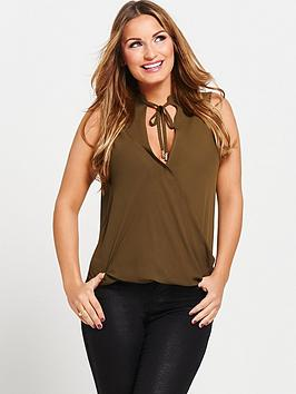 samantha-faiers-sleeveless-wrap-front-blousenbsp