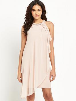 lipsy-nude-swing-dress