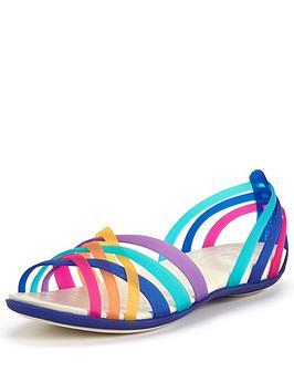 crocs-huarache-flat-sandal