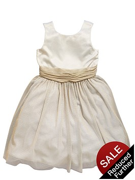 ladybird-girls-pretty-satin-and-lurexnbspoccasion-dress