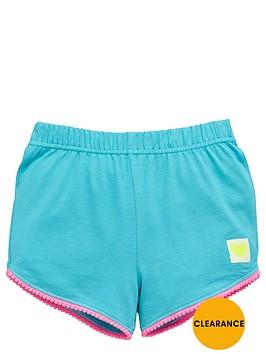 ladybird-girls-jersey-pom-pomnbsptrim-shorts