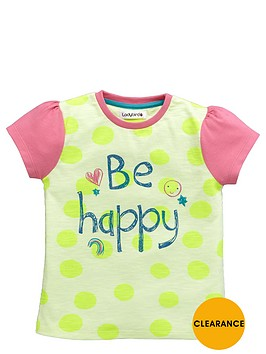 ladybird-girls-be-happy-slogan-t-shirt
