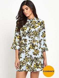 v-by-very-high-neck-tea-dress