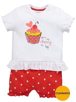 ladybird-baby-girls-cupcake-mock-short-romper-set-2-piece