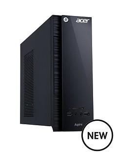 acer-axc-704-intelreg-pentiumreg-processor-8gb-ram-1tb-hard-drive-desktop-base-unit-with-optional-1-years-microsoft-office-365-personal-black