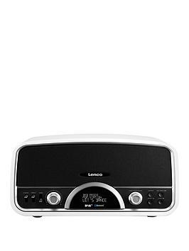 lenco-lenco-retro-radio-with-bluetooth-white