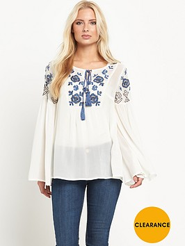v-by-very-embroidered-bell-sleeve-blouse