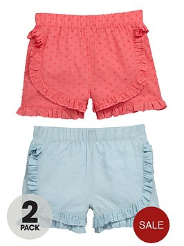 ladybird-girls-pretty-dobby-shorts-2-pack
