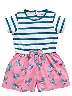 ladybird-girls-stripe-and-bird-playsuit