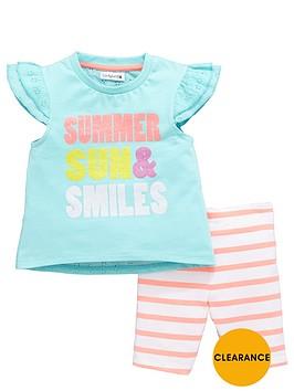 ladybird-girls-broderie-back-t-shirt-and-cycling-shorts-set-2-piece