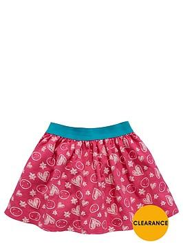 ladybird-girls-heart-print-skater-skirt