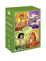 Disney Classics Timeless Classics 4 DVD Collection Set - 2 Jungle Book, Bambi, Dumbo, Lady & The Tra