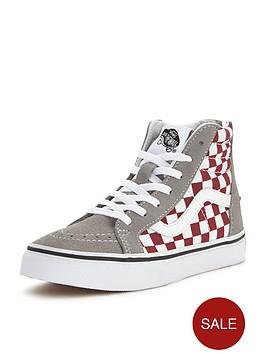 vans-vans-039sk8-hi-zip-50th-anniversary-checkerboard-junior