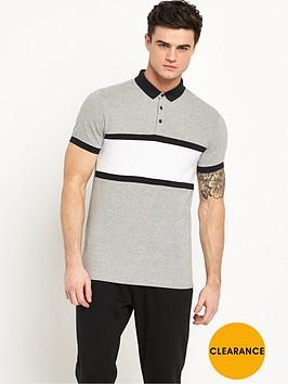 v-by-very-chest-stripe-print-polo