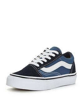 vans-old-skool-childrens-trainer-blue