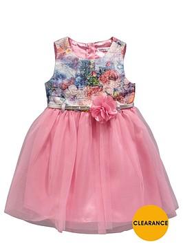 ladybird-girls-jacquard-tutu-and-corsage-belted-dress