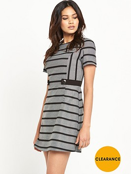 oasis-stripe-shift-dress