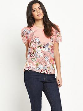 oasis-botanical-border-lace-trim-t-shirt