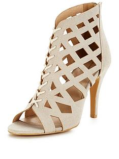 glamorous-caged-tie-up-shoe-bootnbsp