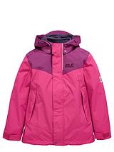 Jack Wolfskin Girls Snow Wizard II 3-in-Jacket