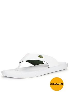 lacoste-l30-toe-post-sandal-white