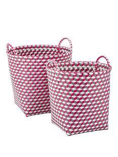 set-of-2-round-baskets-pink