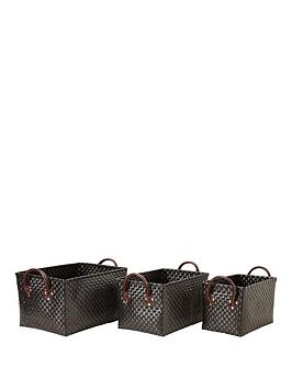 set-of-3-rectangular-storage-baskets-black