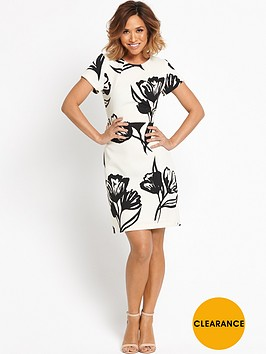 myleene-klass-printed-pencil-dress