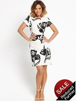 myleene-klass-printed-pencil-dress