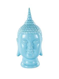 buddha-head-blue