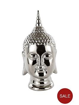 buddha-head-silver