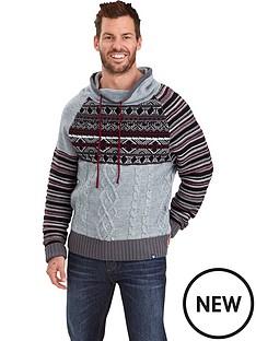 joe-browns-funk-flannel-mens-hoodie