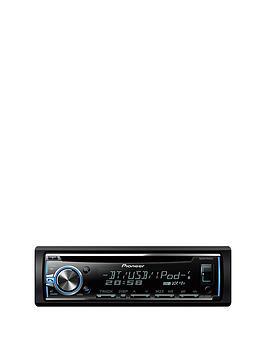 pioneer-ic-cd-tuner-usb-ipodiphone-control-bt-mixtrax-rgb-display-deh-x5800bt
