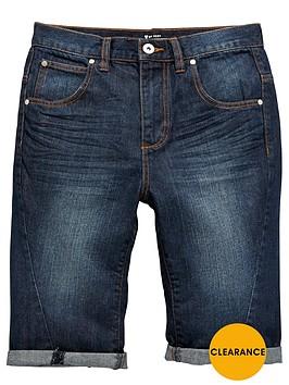 v-by-very-boys-dark-wash-jean-shorts